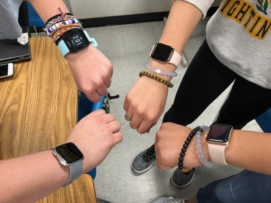 Times are changing: smartwatches rise in popularity