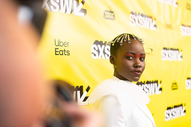 Lupita Nyong'o at an event for Us (via IMDb).