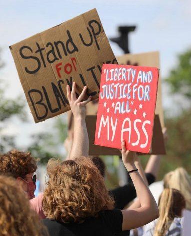 Westerville protest expresses passion towards movement homemade signs.- Courtesy of Palphotos.smugmug.com