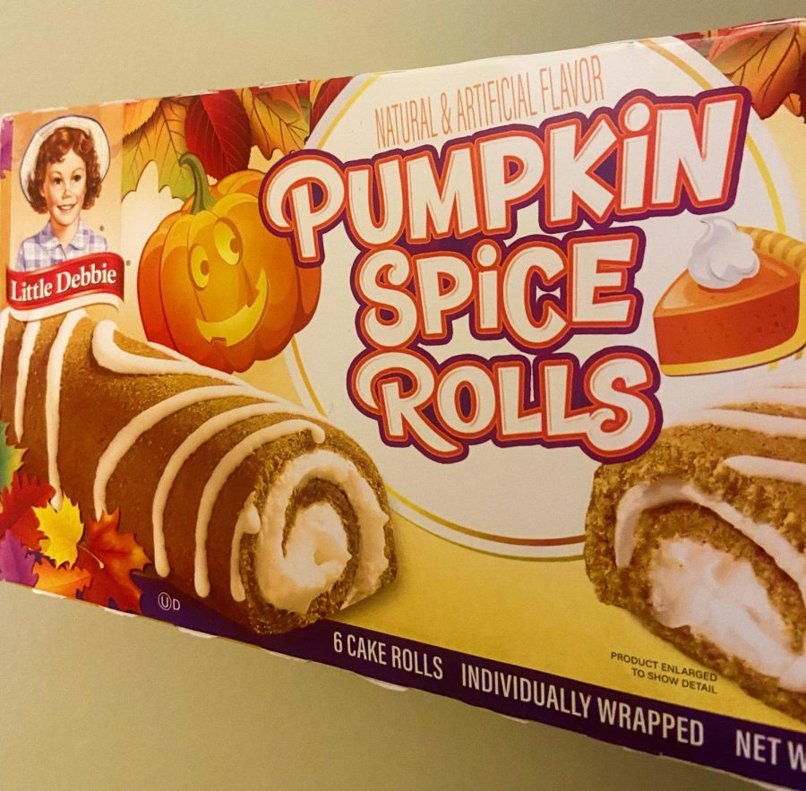 """Little Debbie pastries are catching onto the pumpkin spice """"wave""""."""