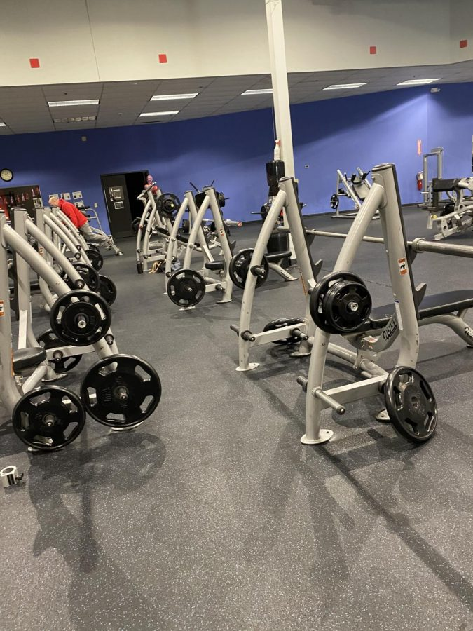 Next Level gym where O'hearn, Long and Horne all train and have started their lifestyle journeys.  Source: Brooke Hoover