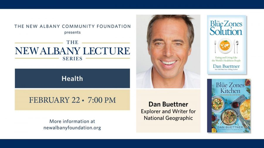 """New Albany Lecture Series features """"Live longer, live better"""" athlete and author"""