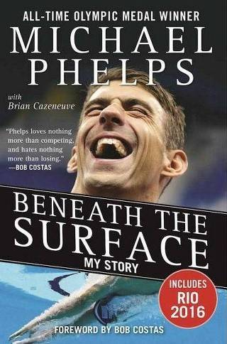 Phelps' book details his successes and his struggles.  Source: newalbanyfoundation.org